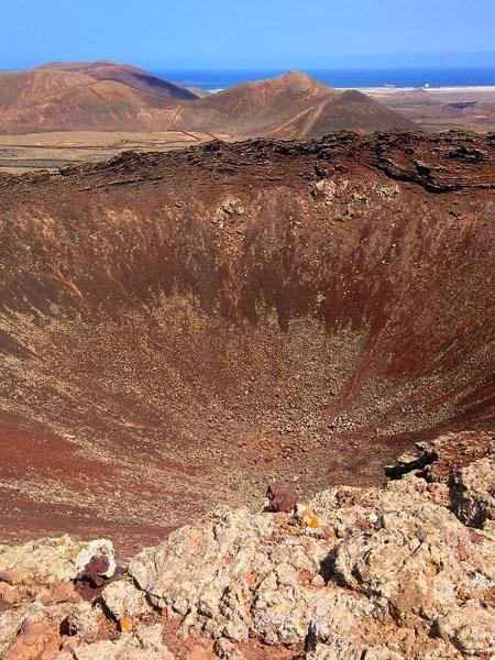 Volcán Calderón Hondo en Fuerteventura