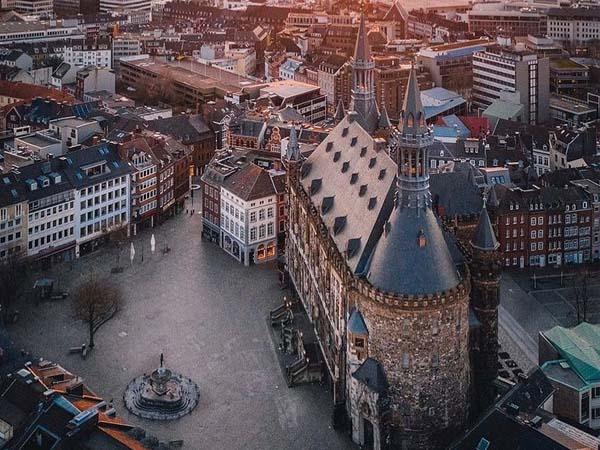 Foto de Aachen desde el aire