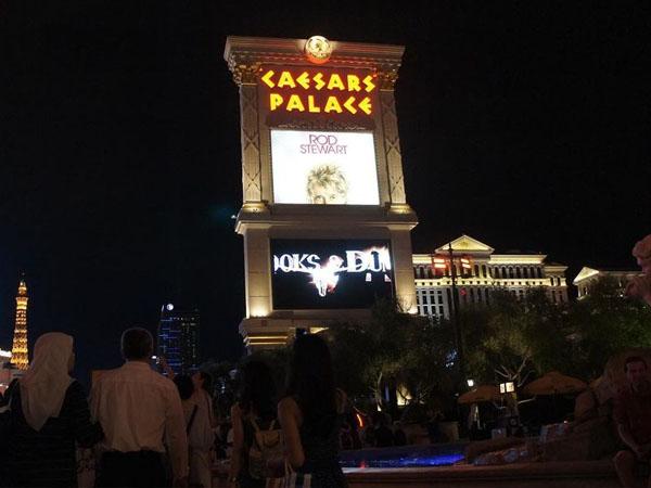 Caesars PAlace de las Vegas