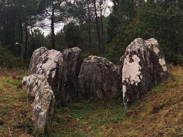 Foto del Dolmen Cova da Moura