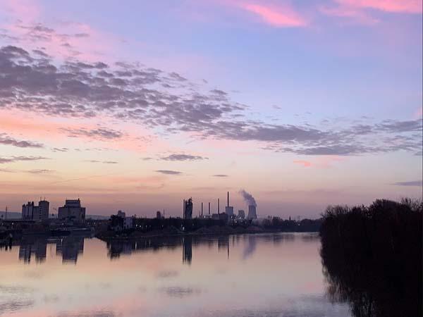 Frankfurt vista desde lejos