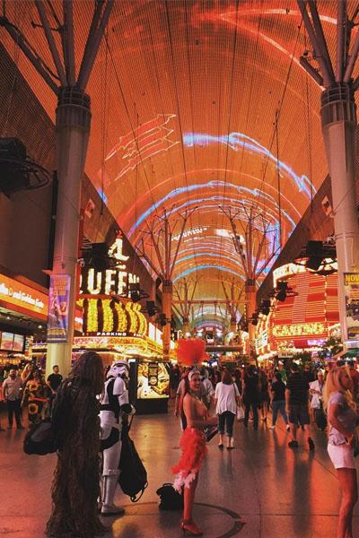 Calles de Las Vegas, Freemont Street