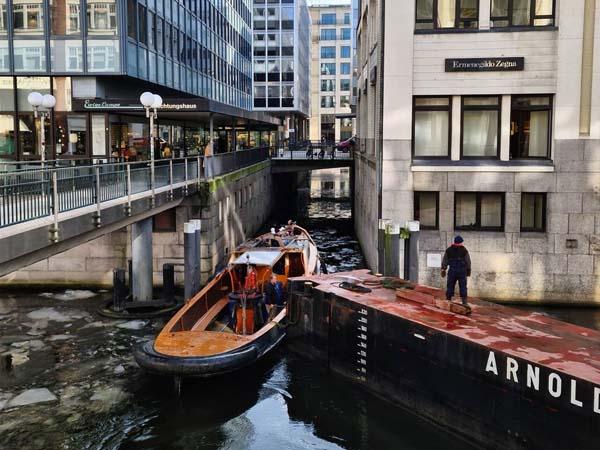 Foto de Hamburgo y sus canales