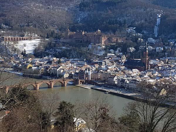 Vista desde el mirador de Heidelberg