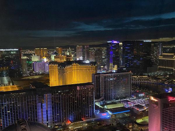 Vistas del High Roller Las Vegas