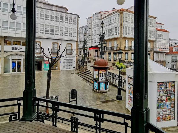 casco urbano de Betanzos