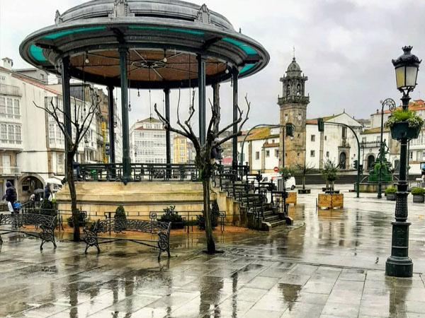 Plaza Hermanos García Naveira de Betanzos
