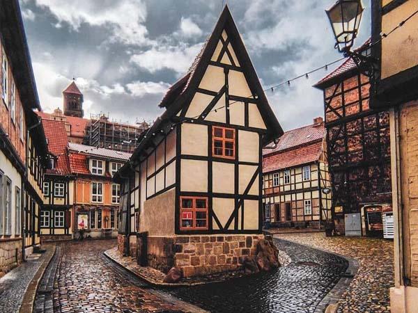 Foto de las calles de Quedlinburg