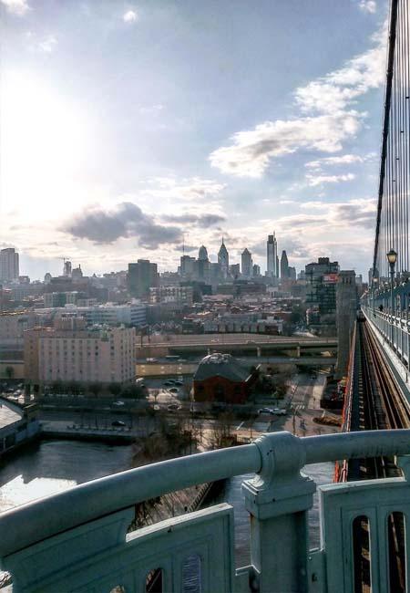 Puente de Benjamin Franklin Filadelfia