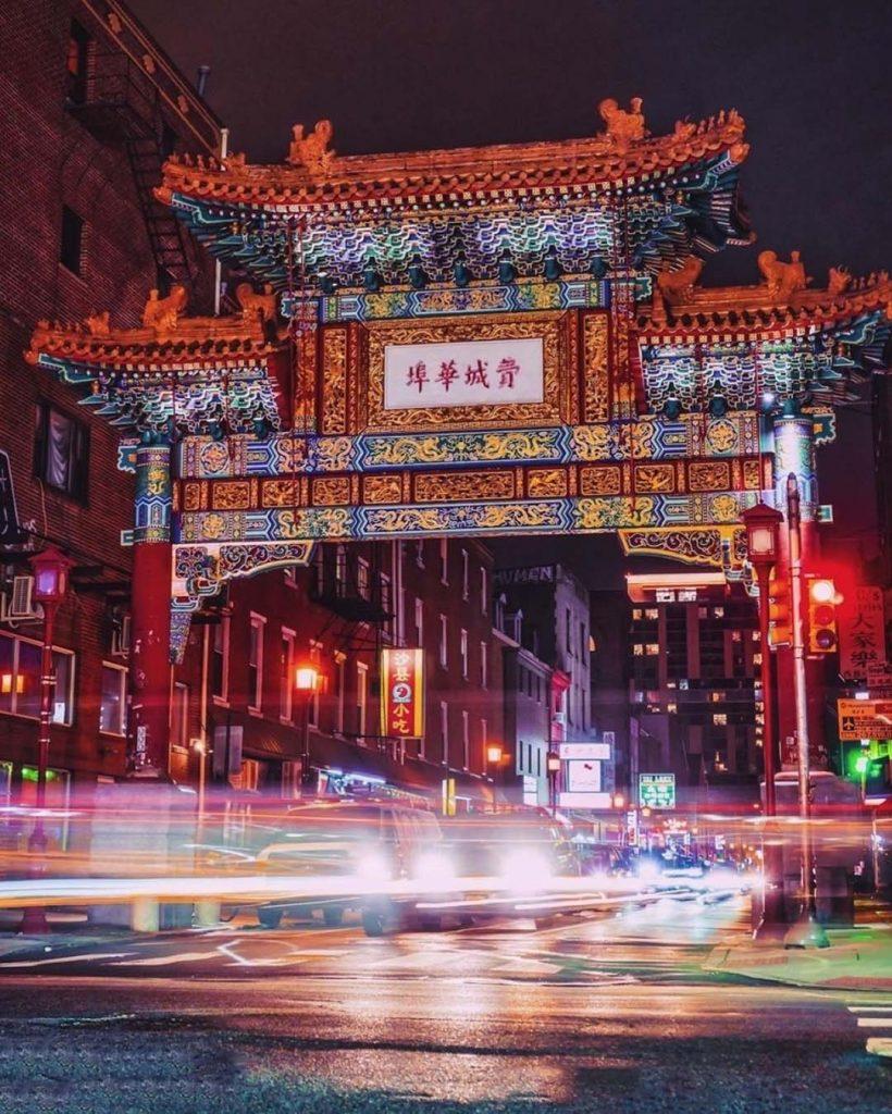 Barrio de Chinatown en Filadelfia