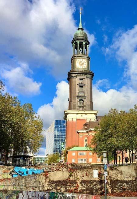 Hauptkirche St. Michaelis de Hamburgo