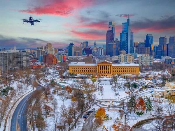 Foto de Filadelfia con Nieve