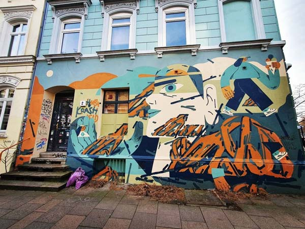 Barrio de Sankt Pauli de Hamburgo