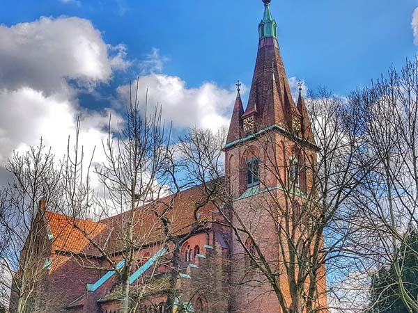 Iglesia de St Nikolas Hamburgo