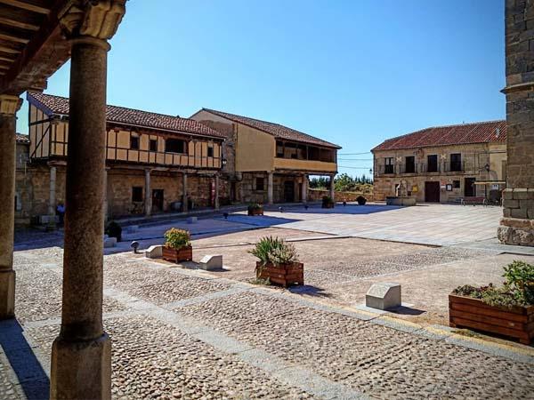 Plaza Porticada de Bonilla de la Sierra