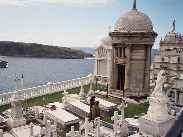 Vistas del Cementerio donde está Severo Ochoa