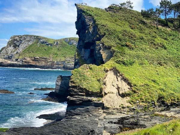Playas y entorno de Luarca, Asturias