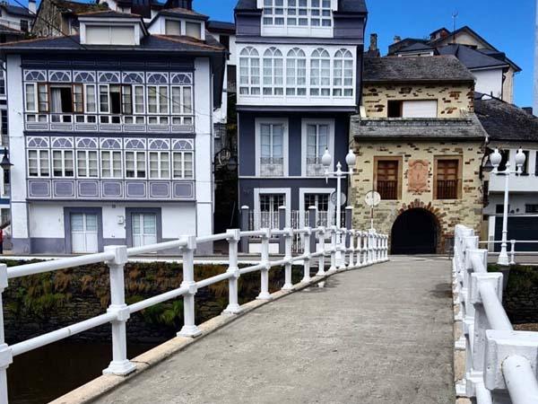 Puente del Beso, Luarca