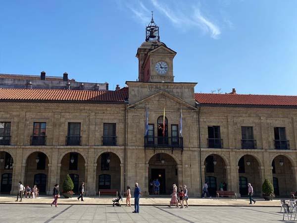 Plaza España de Avilés