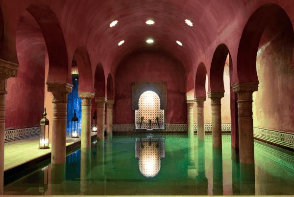 Baños Arabes de Granada - Visitar Granada 2 días. - Ilutravel.com