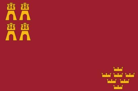 Bandera de La Región de Murcia - Ilutravel.com