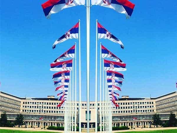 Bandera Serbia - Sitios de interés qué visitar en Serbia - Ilutravel.com