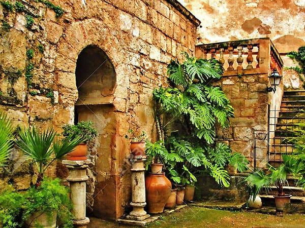 Baños arabes de Palma de Mallorca - Visitar Palma de Mallorca todo lo que ver - Ilutravel.com