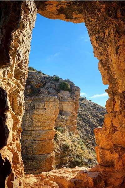 Barranco de los Burros Albarracin - Sitios para un día qué ver en Albarracín - Ilutravel.com