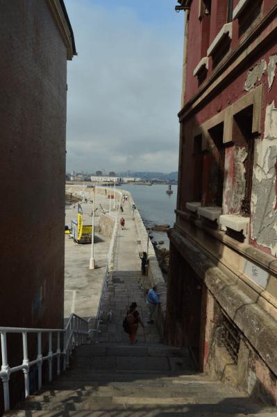 Barrio de Cimadevilla de Gijón