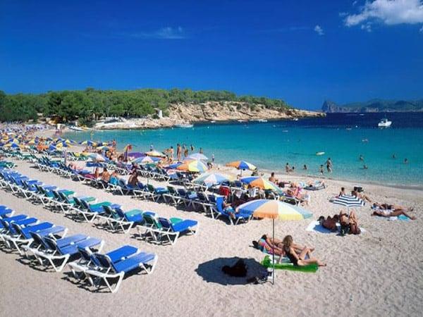 Cala Bassa de Ibiza - Conocer Ibiza todos los lugares de interés - Ilutravel.com