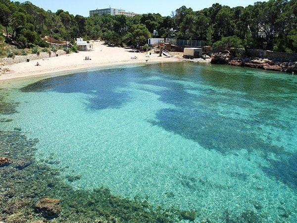Cala Gració de Ibiza - ver Ibiza haciendo turismo - Ilutravel.com