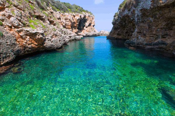 Cala Rafalet de Menorca lugar que ver en MEnorca - Ilutravel.com