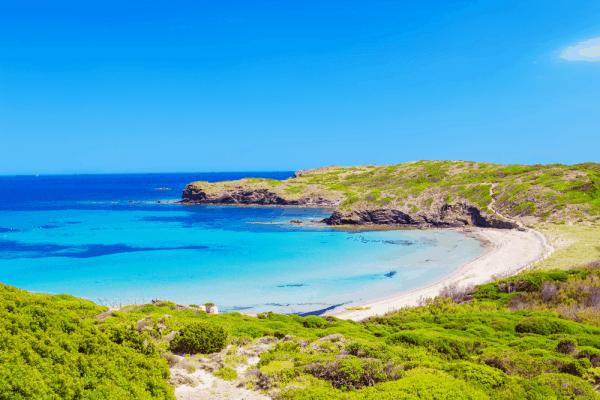 Cala Tortuga de Menorca 7 días - Lugares de interés para ver Menorca - Ilutravel.com