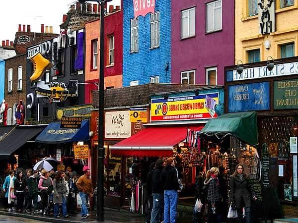 Camden Town Londres - Ver Londres en 4 días - Ilutravel.com