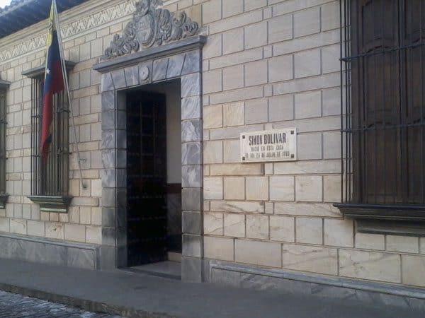 Casa Simon Bolivar de Caracas