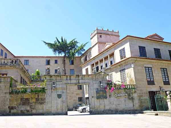 Casa del Barón (Parador Nacional) de Pontevedra - Turismo en Pontevedra, sitios de interes - Ilutravel.com