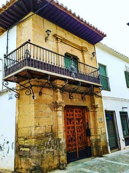 Casa del Caballero del Verde Gabán de Villanueva de los Infantes - Qué ver en Villanueva de los Infantes - Ilutravel.com
