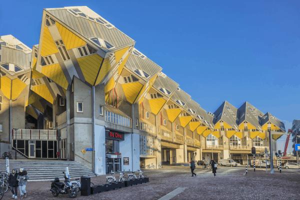 Casas Cubo de Rotterdam - Que ver en Rotterdam - Ilutravel.com