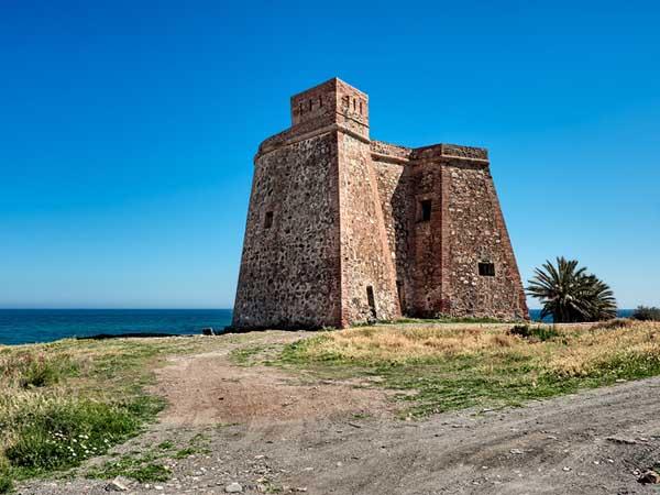 Castillo Mojacar - Ver Mojácar de turismo - Ilutravel.com
