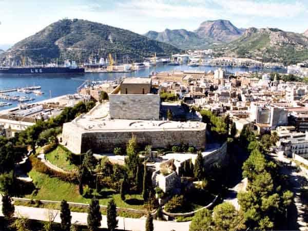 Cartagena Vista Aérea - Sitios qué ver en Cartagena - Ilutravel.com