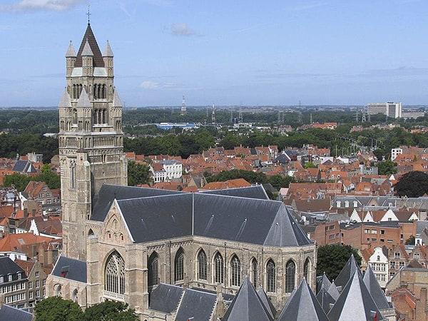 Catedral de Brujas - Ver y visitar Brujas todos los lugares - Ilutravel.com
