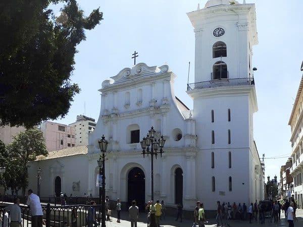 Catedral de Caracas lugar que ver