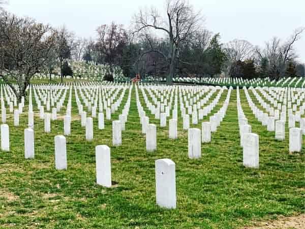 Cementerio Arlington Washington - Cosas de interés turístico para ver en 2 días en Washington - Ilutravel.com