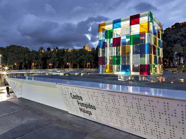 Centre Pompidou de Málaga - que ver en 3 días en Málaga - Ilutravel.com