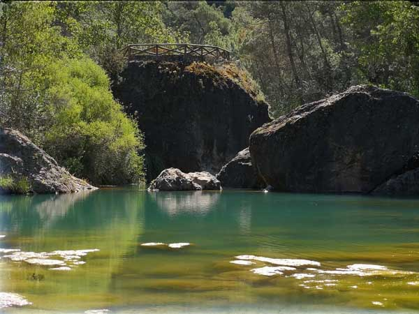 Charca del Aceite Cazorla - qué visitar en Cazorla de turismo en un fin de semana - Ilutravel.com