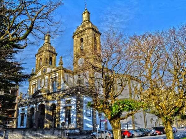 Concatedral de San Julian Ferrol - Ver Ferrol de turismo - Ilutravel.com