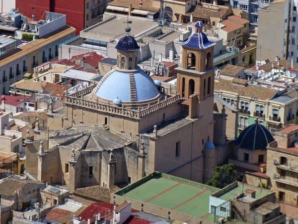 Concatedral de San Nicolás de Bari de Alicante - Ver Alicante en un día - Ilutravel.com