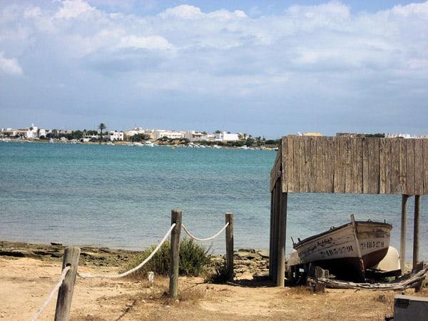 Estany d'Es Peix de Formentera - Turismo en 5 días por formentera Ilutravel.com