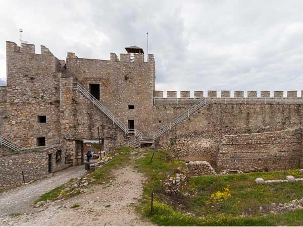 Fortaleza Samuel Ohrid - Lugares que ver en Ohrid de turismo - Ilutravel.com
