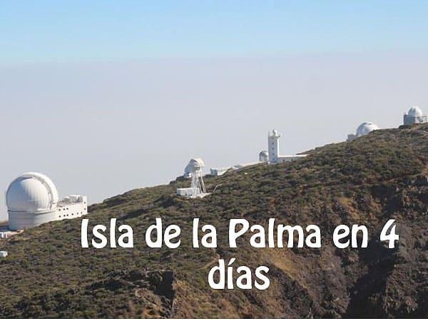 Foto superior de la ISla de la Palma - Qué ver en la Palma en 4 días - Ilutravel.com